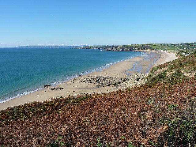 Praa Sands from Rinsey West Cliff