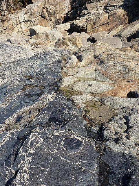 Slate - Granite contact zone