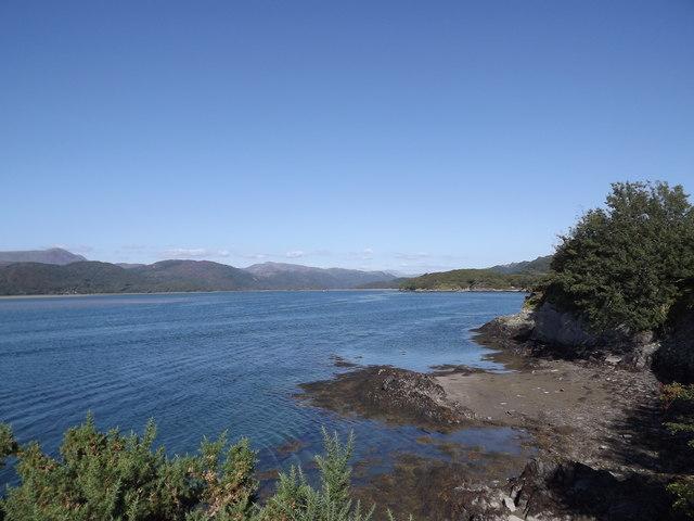 Afon Mawddach estuary