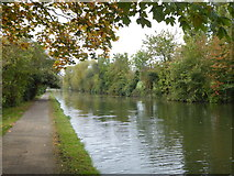 TQ1684 : A rural stretch of the Paddington Branch of the Grand Union Canal by Rod Allday