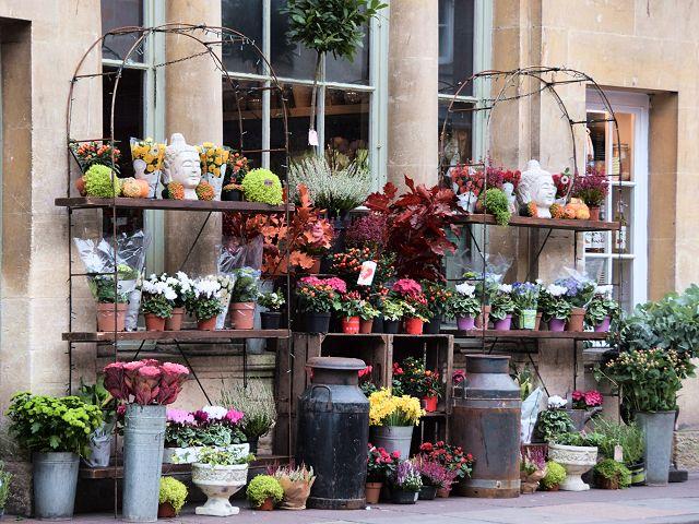 Florist's display