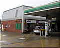 SU9576 : Hursts filling station shop, Maidenhead Road, Windsor by Jaggery