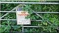 SO5272 : Overgrown gate by Richard Webb