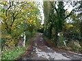 SJ8052 : Entrance to Dunkirk Farm by Jonathan Hutchins