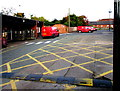 SJ5441 : Royal Mail vans in Whitchurch Delivery Office yard, Shropshire by Jaggery