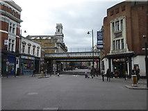 TQ3382 : Railway bridge over Old Street Shoreditch by Rod Allday