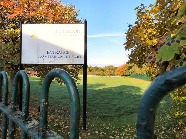Hyde Clarendon Sixth Form College playing fields