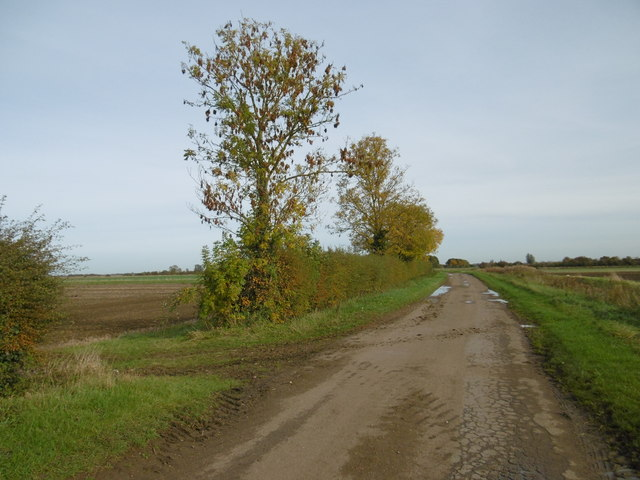 The poorly maintained Dyke Drove