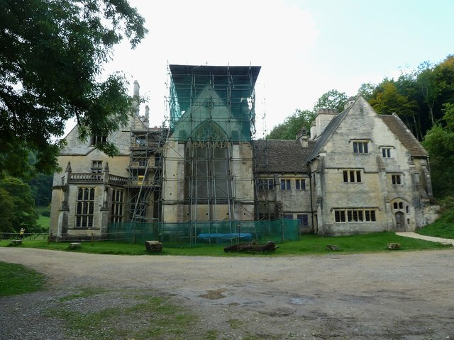 Woodchester Mansion - Eastern façade & chapel