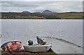 NG9994 : Badluarach jetty by Nigel Brown