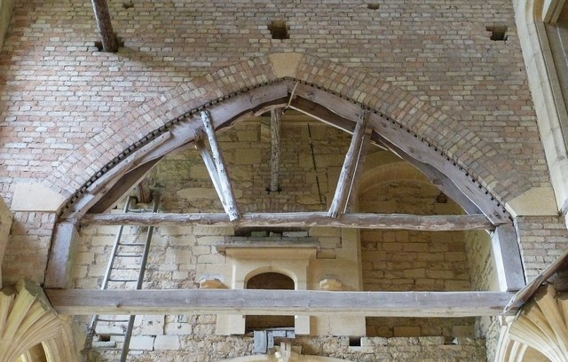 Woodchester Mansion - Arch with former