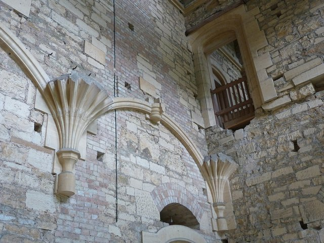 Woodchester Mansion - Vaulting corbels