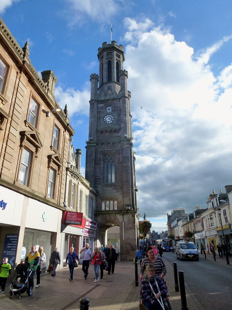 Wallace Tower Ayr  High Street