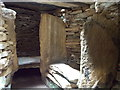 HY4227 : Rousay: the lower chamber at Taversöe Tuick by Chris Downer