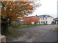 SO9447 : Late autumn colours, Pershore High School by Jaggery