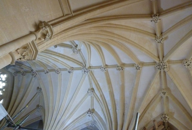 Woodchester Mansion - Chapel ceiling