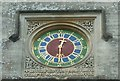 SO8001 : Woodchester Mansion - Clock face in internal courtyard by Rob Farrow