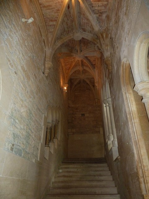 Woodchester Mansion - Grand Stair - View upwards