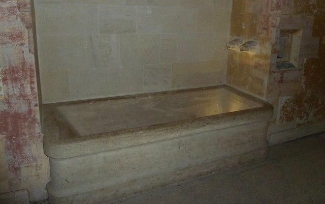 Woodchester Mansion - Bathroom - Stone bath