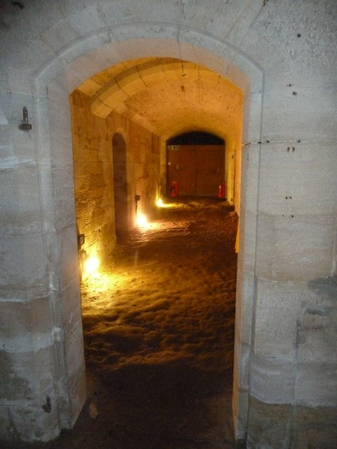 Woodchester Mansion - The cellars