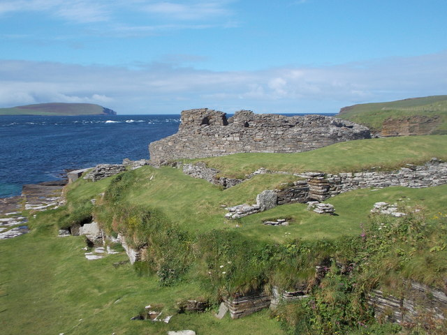 Rousay: Midhowe Broch