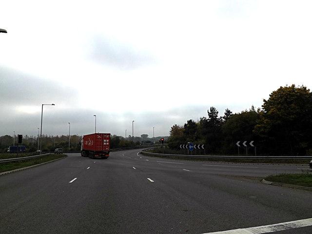 A1214 London Road, Copdock © A...