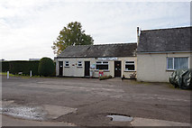NY6727 : Silverband Park Shop near Knock by Ian S