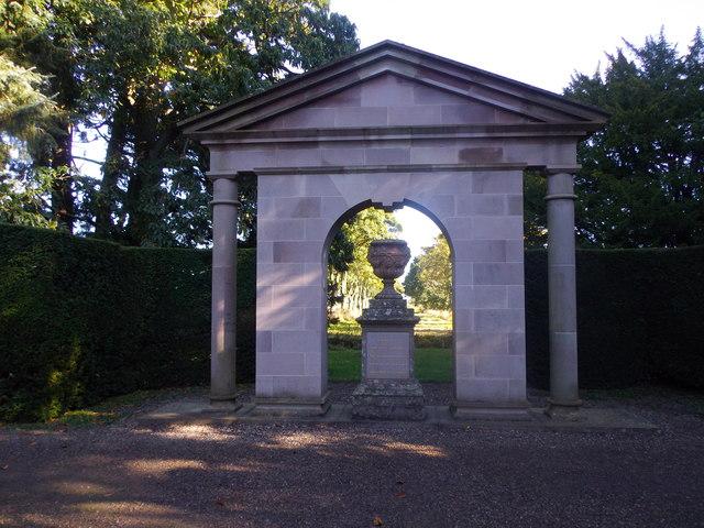 Memorial to HRH The Princess Margaret, Glamis