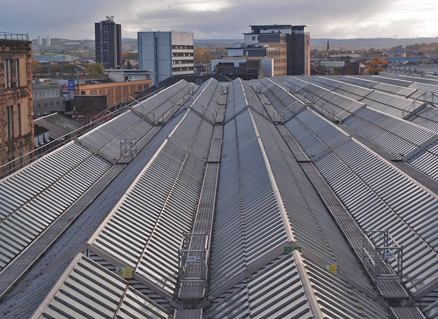 Roof, Glasgow Central Station