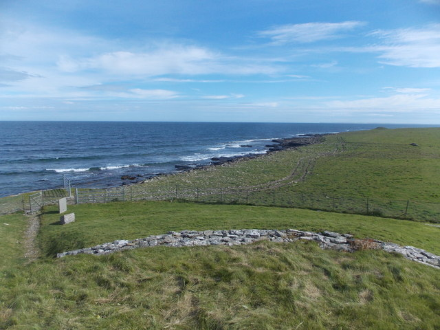 Sanday: the coast of Els Ness
