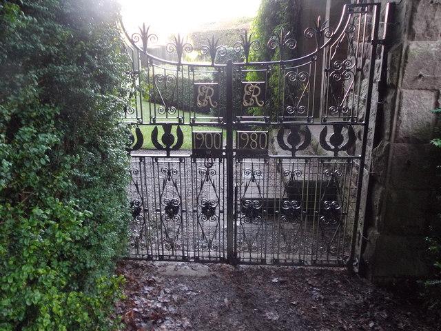 Gates to the Italian Garden
