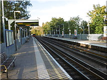 TQ1891 : Canons Park Underground station by Marathon