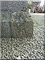 SW6225 : OS benchmark - Porthleven, Methodist Church by Richard Law