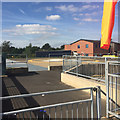 SP3880 : Helipad on A&E deck level, University Hospital, Walsgrave, Coventry by Robin Stott