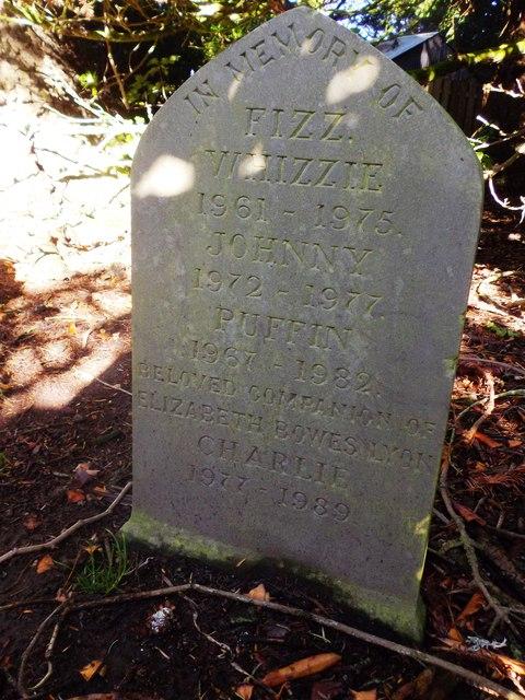 Pet Cemetery, Glamis Castle