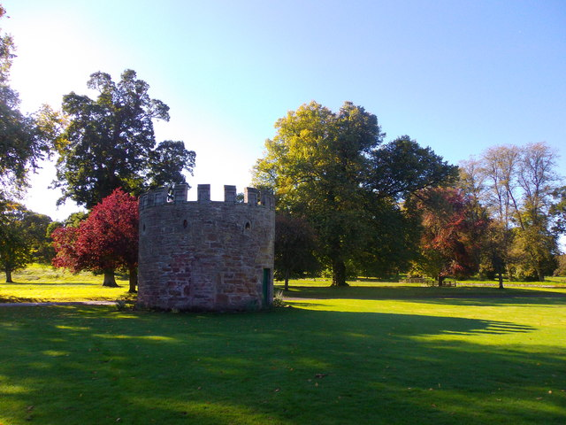 East Tower, Glamis Castle grounds