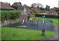 ST1898 : Playground, Oakdale Recreation Ground by M J Roscoe