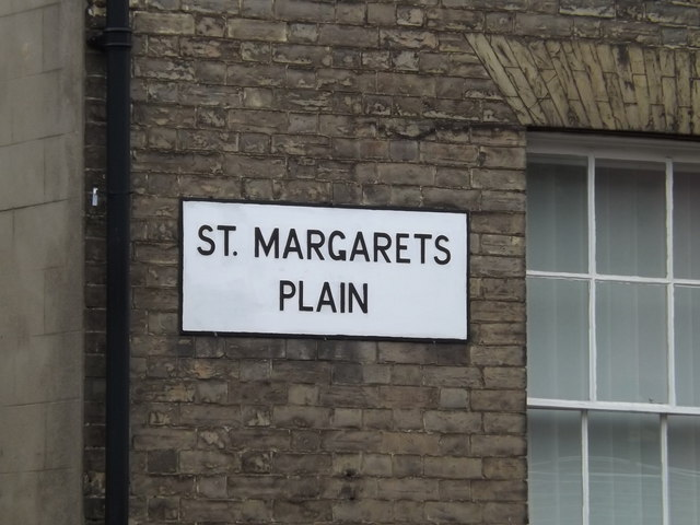 St.Margarets Plain sign