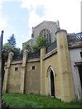 TQ2887 : Church Behind by Bill Nicholls