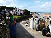 SS2006 : Bude Haven and Efford Cottage,  Bude, Cornwall by Derek Voller