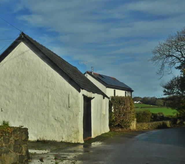 Lane Near Glandwr Bridge