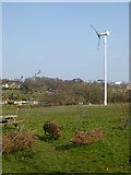 SE2853 : 15KW wind turbine at Harlow Carr by Rod Allday