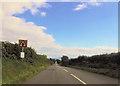 SH4138 : Approaching crossroads near Castellcoed by John Firth