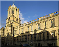 SP5105 : Christ Church College: evening light by Dylan Moore