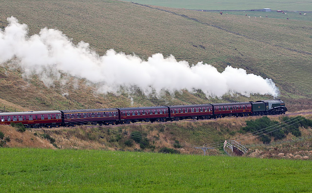 Union of South Africa on the Borders Railway at Falahill