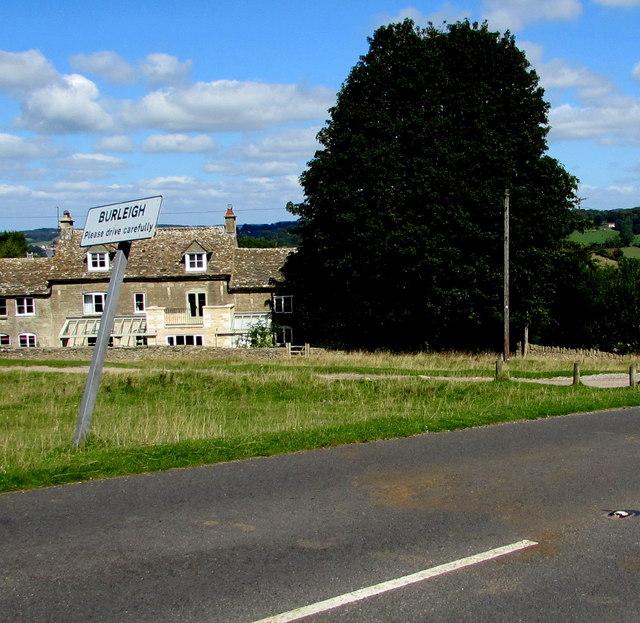 Burleigh - Please drive carefully