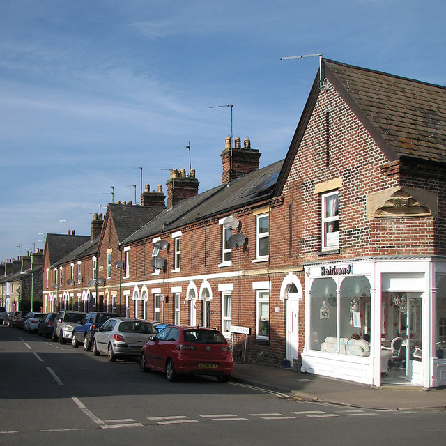 Newmarket: Victoria Terrace, All Saints Road