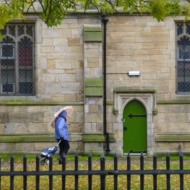 A Rainy day at Beeston church