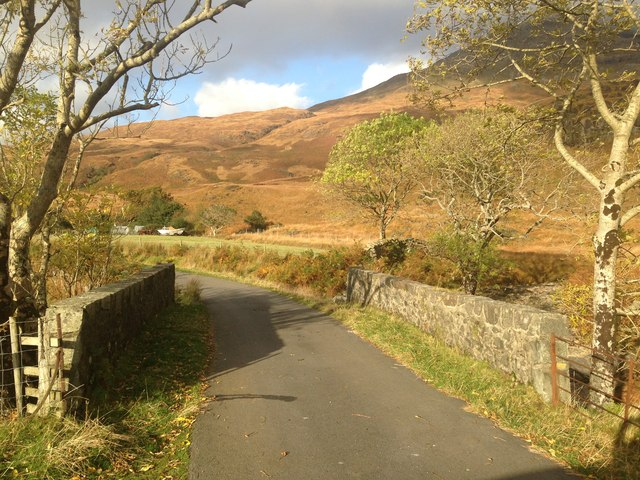 Bridge on the road to Lochbuie