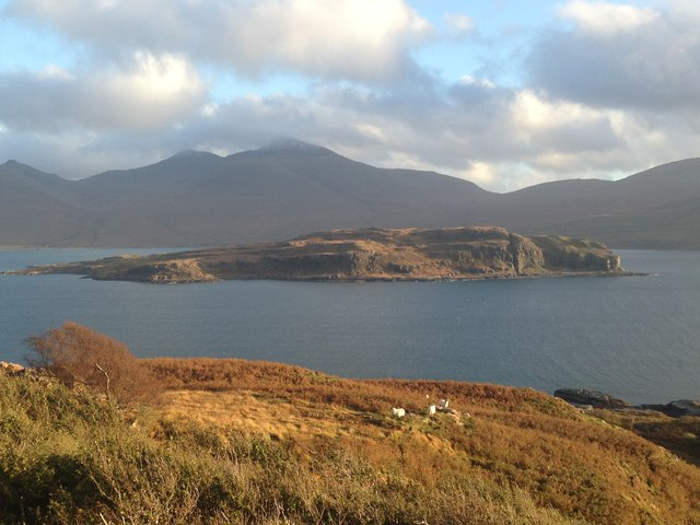 Mull, Loch na Keal and Eorsa